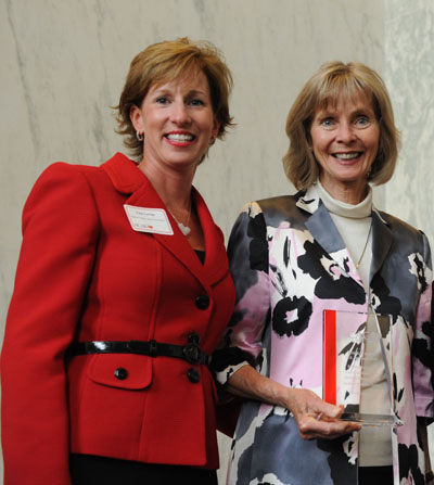 Lisa Levine and Lois Capps