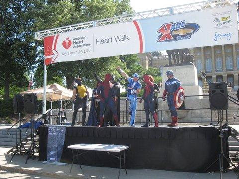 Heart Walk 40