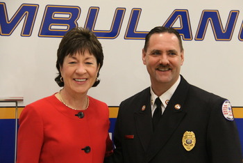 Director meets with Senator Susan Collins