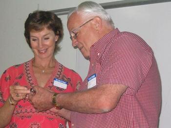Edie Farrell, Jack Grogan - 4-22-09