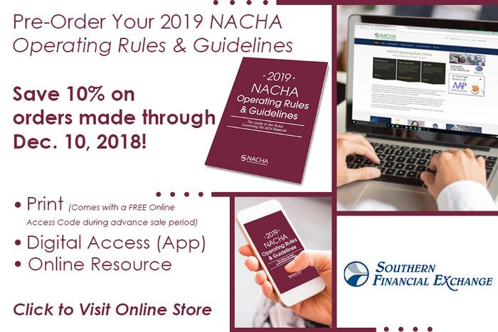 Save 10 Percent on NACHA Rulebook Pre-Orders