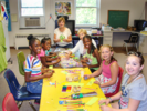 Art projects at Faith Haven