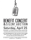 Jacobs Porch Benefit Concert poster 2