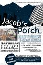 Jacobs Porch Benefit Concert poster 3
