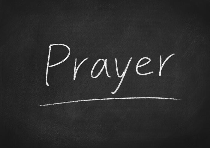Prayer Blackboard Image