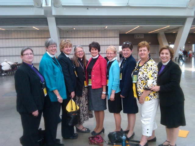 9 Female Bishops at Churchwide Assembly 2013