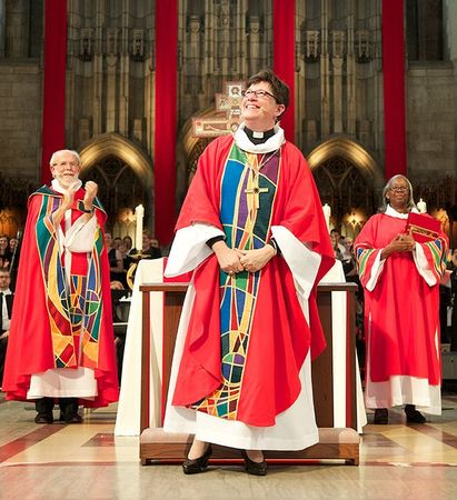 Bishop Eaton at Installation Oct 5 2103