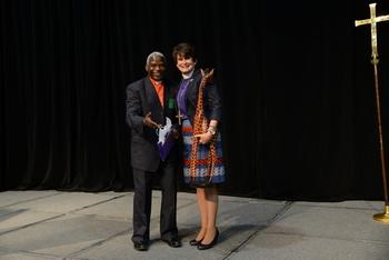 Bp Gideon Giraffe and Bp Dillahunt SOS Assembly 2014