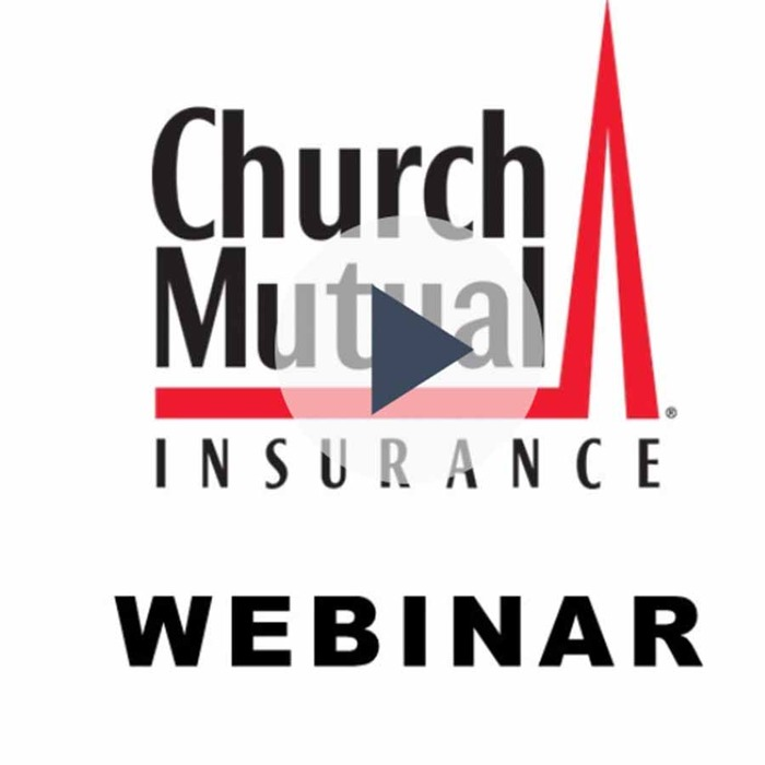 Church Mutual offers webinar on safely coming back together as a congregation