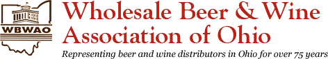 The Wholesale Beer & Wine Association of Ohio. Click logo for home page.