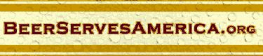 beer saves america banner