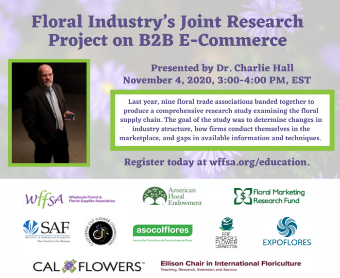 Learn the Findings from the Floral Industry's Joint Research Project on B2B E-Commerce